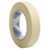 "Sparco Utility Purpose Masking Tape - 1"" Width x 60 yd Length - 3"" Core - Crepe Paper Backing - 1 / Roll - Tan"