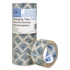 "Sparco Crystal Clear to the Core Packaging Tape - 2"" Width x 55 yd Length - 3"" Core - Pressure-sensitive Poly - 2.50 mil - 6 / Pack - Crystal"