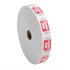 Sparco Admission Ticket - Red - 2000/Roll