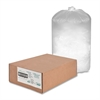 "10 Microns Shredder Bag - 56 gal - 48"" Height x 26"" Width x 18"" Depth - 100/Box - White"