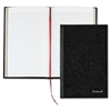 "TOPS Professional Business Journal - 160 Sheets - Sewn - 20 lb Basis Weight - Jr.Legal 5"" x 8"" - White Paper - Black Cover - 1Each"