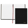 "TOPS Professional Business Journal - 160 Sheets - Sewn - 20 lb Basis Weight - Letter 8.50"" x 11"" - White Paper - Black Cover - 1Each"