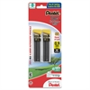 Pentel Super Hi-Polymer Lead Refill - 0.9 mmBold Point - HB - Black - 60 / Pack