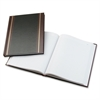 "Wilson Jones S295 Record Book - 150 Sheet(s) - 10.62"" x 8.25"" Sheet Size - White Sheet(s) - Black, Brown Cover - 1 Each"