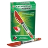 Dixon RediSharp Permanent Marker - Fine Point Type - Red Alcohol Based Ink - 1 / Each