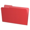 "Pendaflex Recycled Interior File Folder - Legal - 8 1/2"" x 14"" Sheet Size - 1/3 Tab Cut - Red - 100 / Box"