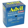 Advil Pain Reliever Single Dose Packets - For Headache, Muscular Pain, Backache, Arthritis, Menstrual Cramp - 50 / Box