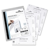 Durable Replacement Paper Insert - 50 / Pack - White