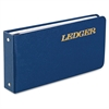 "Wilson Jones® Ring Ledger Outfit, Complete System, 5 1/2"" x 8 1/2"", Blue - 100 Sheet(s) - Ring Binder - 5.50"" x 8.50"" Sheet Size - Blue Cover - 1 Each"