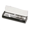 Sheaffer Gift Collection Ballpoint Pen/Pencil Set - Medium Pen Point Type - 0.7 mm Lead Size - Refillable - Chrome Ink - Chrome Barrel - 2 / Set
