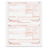 "TOPS Carbonless Standard W-2 Tax Forms - 4 Part - 8.50"" x 5.50"" Sheet Size - White Sheet(s) - 24 / Pack"