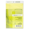 "Nature Saver 100% Recy. Canary Jr. Rule Legal Pads - 50 Sheets - 0.28"" Front Line(s) Space - 15 lb Basis Weight - Jr.Legal 5"" x 8"" - Canary Paper - Perforated, Back Board - Recycled - 1Dozen"