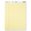 "Nature Saver 100% Recycled Canary Legal Ruled Pads - 50 Sheets - Printed - 15 lb Basis Weight - 8.50"" x 11.75"" - Canary Paper - Recycled"