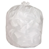 "Genuine Joe Hvy-Duty Tall Kitchen Trash Bags - Small Size - 13 gal - 24"" Width x 33"" Length x 0.85 mil (22 Micron) Thickness - Low Density - White - 150/Carton - Kitchen"