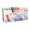 Cypress Plus Cypress Plus Powder Free Textured Latex Examination Gloves - Medium Size - Latex - Powder-free, Textured - For Healthcare Working - 100 / Box