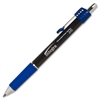 Integra Retractable Roller Gel Pen w/ Metal Clip - 0.7 mm Point Size - Blue Gel-based Ink - Blue Barrel - 1 Dozen
