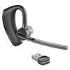 Plantronics Voyager Legend Wireless Headset System - Black - Wireless - Bluetooth - 33 ft - Over-the-ear - Monaural