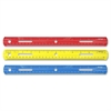 "Westcott Plastic Ruler - 12"" Length - 1/16 Graduations - Imperial, Metric Measuring System - Plastic - 1 Each - Assorted"