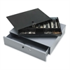 "Removable Tray Cash Drawer - Gray - 3.8"" Height x 17.8"" Width x 15.8"" Depth"