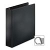 "Slant-D Locking Ring Binder - 1"" Binder Capacity - Letter - 8 1/2"" x 11"" Sheet Size - D-Ring Fastener - Inside Front & Back Pocket(s) - Polypropylene - Black - 1 Each"