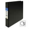 """Sparco EasyOpen Locking Slant-D Ring Binders - 1 1/2"""" Binder Capacity - Letter - 8 1/2"""" x 11"""" Sheet Size - D-Ring Fastener - Inside Front & Back Pocket(s) - Polypropylene - Black - 1 Each"""