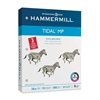 "Hammermill Punched Tidal Multipurpose Paper - Letter - 8.50"" x 11"" - 20 lb Basis Weight - Recycled - 3 x Hole Punched - 92 Brightness - 500 / Ream - White"