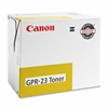 Canon GPR-23 Original Toner Cartridge - Yellow - Laser - 1 Each