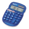 "Sharp ELS25 Quiz Calculator - 0.55"" - 10 Digits - LCD - Battery/Solar Powered - 1 Each"
