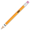 Zebra Pen No. 2 Mechanical Pencil - #2 Lead Degree (Hardness) - 0.7 mm Lead Diameter - Refillable - Yellow Wood Barrel - 1 Dozen