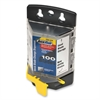 "PHC QuickBlade Dispenser - 2.37"" Length x 25 mil Thickness - Wall Mountable - Plastic - 1 Each - Yellow"