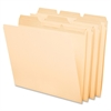 "Pendaflex ReadyTab File Folder - Letter - 8 1/2"" x 11"" Sheet Size - 1/3 Tab Cut - Assorted Position Tab Location - Manila - 50 / Pack"