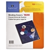 "Sparco Standard Round Corner Presentation Cover - 8 3/4"" x 11 1/4"" Sheet Size - Plastic - Clear - 100 / Pack"