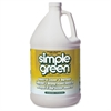 Simple Green Industrial Cleaner and Degreaser - Lemon Scent - Concentrate Liquid - 1 gal (128 fl oz) - Lemon Scent - 1 Each - Lemon