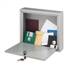 "Interoffice Mailbox - External Dimensions: 18"" Width x 7"" Depth x 18"" Height - Hinged Closure - Platinum - For Office - Recycled - 1 Each"