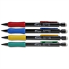 Integra Grip Mechanical Pencils - 0.5 mm Lead Diameter - Refillable - Assorted Barrel - 1 Dozen