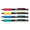 Integra Grip Mechanical Pencils - 0.7 mm Lead Diameter - Refillable - Black Lead - Assorted Barrel - 1 Dozen