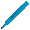 Integra Chisel Desk Liquid Highlighters - Chisel Point Style - Fluorescent Blue