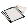 "Master MasterView High Gauge Replacement Sheets - 11.5"" Height x 10"" Width x 0.5"" Depth - 3 / Pack - Black"