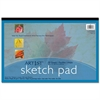 "Art1st Medium Weight Sketch Pads - 50 Sheets - 94 g/m² Grammage 18"" x 12"" - White Paper - Recycled - 50 / Pad"