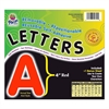 "Pacon Self-Adhesive Removable Letters - 78 Character - Self-adhesive - Acid-free, Fadeless - 4"" Length - Red - 1 / Pack"