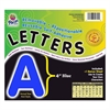 "Pacon Self-Adhesive Removable Letters - 78 Character - Self-adhesive - Acid-free, Fadeless - 4"" Length - Blue - 1 / Pack"