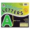 "Self-Adhesive Removable Letters - 78 Character - Self-adhesive - Acid-free, Fadeless - 4"" Length - Green - 1 / Pack"