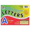 "Colored Self-Adhesive Removable Letters - 159 Character - Self-adhesive - Acid-free, Fadeless - 2"" Length - Blue - 159 / Pack"