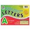 "Pacon Colored Self-Adhesive Removable Letters - 159 Character - Self-adhesive - Acid-free, Fadeless - 2"" Length - Green - 1 / Pack"