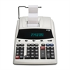"Victor 12304 Executive Commercial Calculator - Dual Color Print - Dot Matrix - 4 lps - Big Display, Clock, Date, Calendar - 0.67"" - 12 Digits - Fluorescent - AC Supply Powered - 2.8"" x 8.5"" x 12.3"" -"