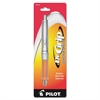 Dr. Grip Ballpoint Pen - Medium Point Type - 1 mm Point Size - Refillable - Black - Orange Barrel - 1 Pack