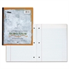 "TOPS Second Nature Wireless Notebooks - 100 Sheets - 11"" x 9"" - White Paper - 1Each"