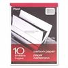 """Mead Carbon Paper Tablet - 8.50"""" x 11"""" - 1 / Each - Black"""