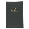 "Mead Vinyl Memo Book - 40 Sheets - 2.50"" x 4.25"" - Assorted Paper - 1 / Each"