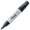 Sharpie Marker - Chisel Point Style - Black Alcohol Based Ink - 1 Each